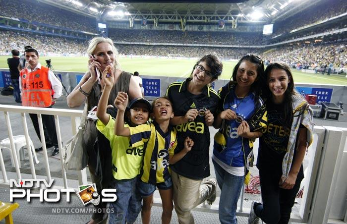 The association changed its rules this week, barring men from attending games played by teams sanctioned for fan trouble. Instead, it allowed women and children under 12 to watch for free, although a few men were in the crowd.