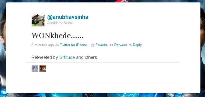 Anubhav mixes humour with joy.