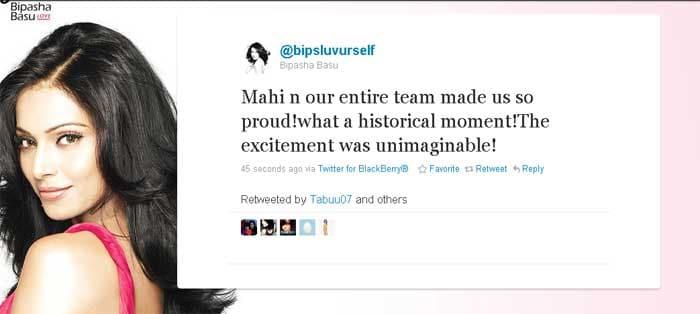 Bipasha gives credit to awesome leadership.