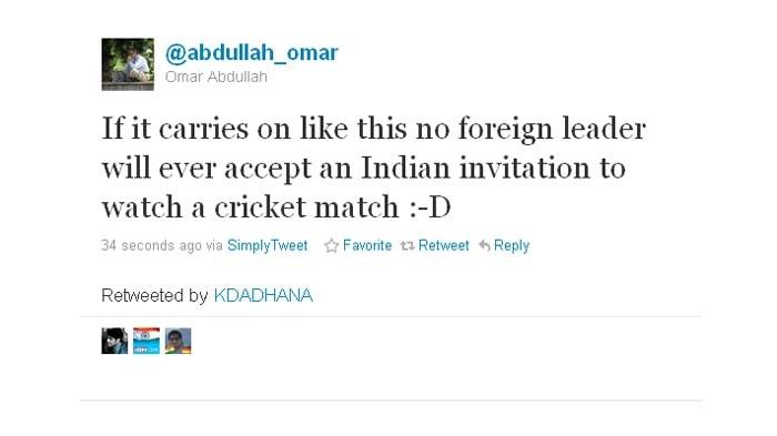 Yet again, Omar Abdullah gets serious.