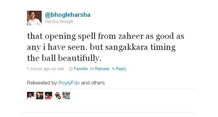 Listen to the expert- Harsha Bhogle