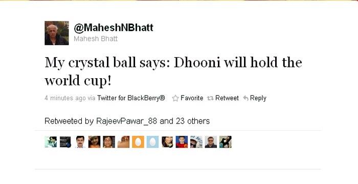 Mahesh Bhatt is already celebrating.