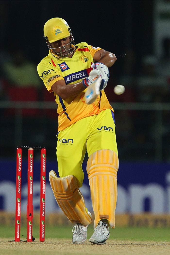 MS Dhoni hit a quick 25 but was unable to guide his team out of troubled waters.