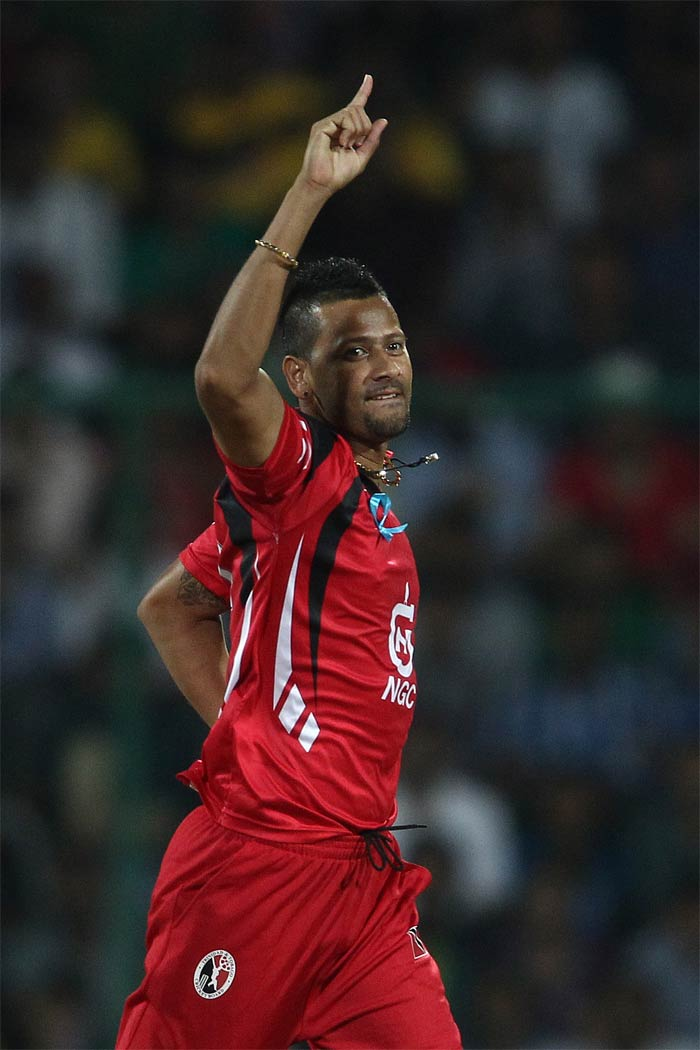 Rayad Emrit was the pick of the bowlers with 3 wickets to his name as Trinidad continued to chop away at Chennai.