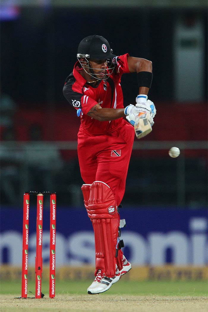 Simmons' 63 off 41 balls sealed it for Trinidad who topped the group and shall face Mumbai Indians in the semis.