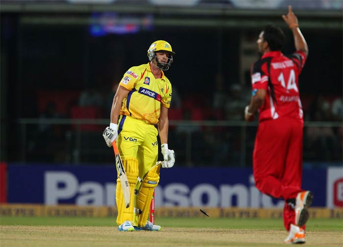 Trinidad were in no mood to relax as Chennai were bowled out for 118 in 19.4 overs.