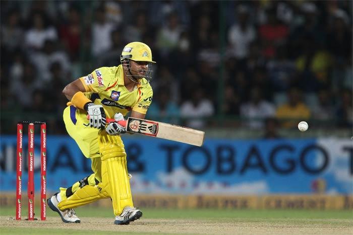 Suresh Raina's 38 threatened to take the game away from Trinidad.