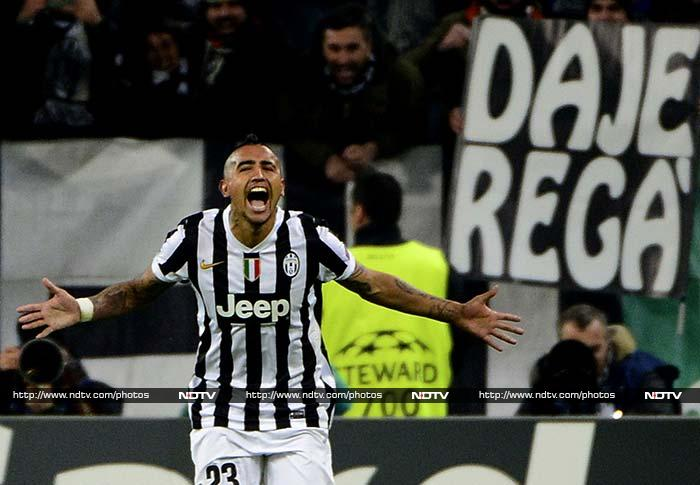 Arturo Vidal scored a hat-trick, including two from the penalty spot, as Juventus relaunched their hopes of qualifying for the last 16 of the Champions League with a rousing 3-1 win over Copenhagen.