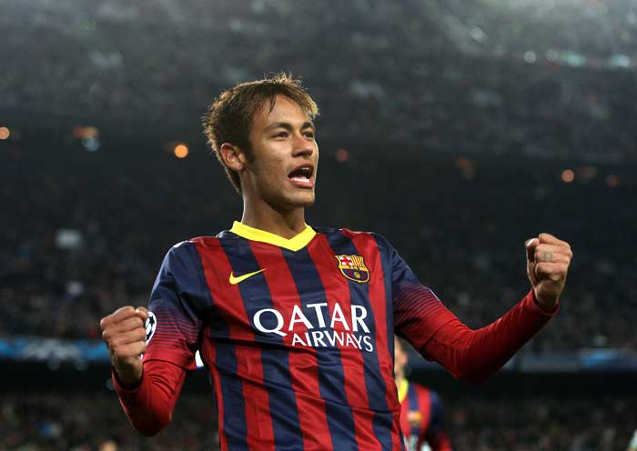 Neymar's hat-trick helped Barcelona trounce Celtic 6-1 in a Group H clash at Camp Nou.