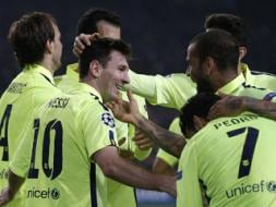 Champions League: Messi Equals Record as Barcelona and Bayern Reach Last 16