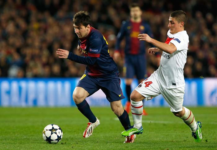 But Barcelona's main weapon struck as Lionel Messi cancelled out PSG'S lead to draw them level at 1-1. It ended that way and they drew 3-3 on aggregate with Barca going through by virtue of more away goals.