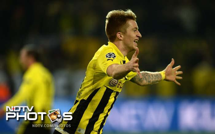 At 1-2 Borussia looked down but they were not out. Reus got the late equaliser and it was 2-2.