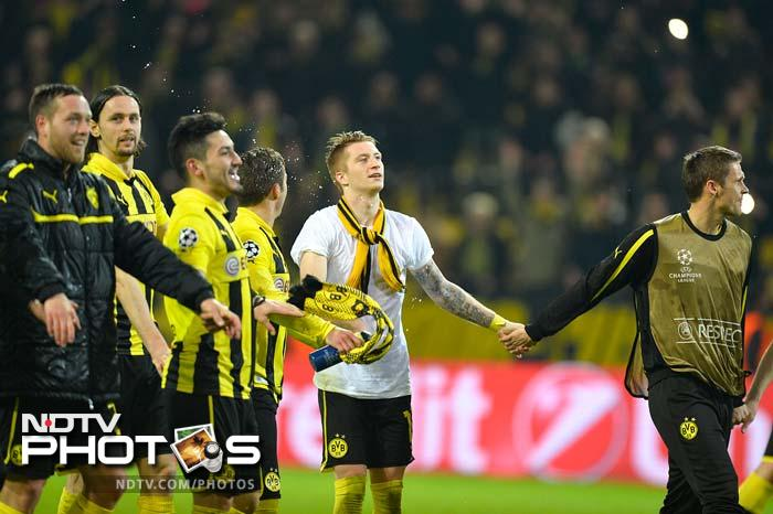 Reus' second goal came at the right time as Malaga were cruelly denied their chance of a semi-final spot and Borussia went through after coming back from behind.