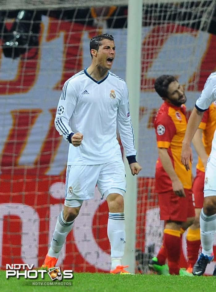 But Cristiano Ronaldo delivered the killer blow by taking his team 5-3 ahead on aggregate to enter the last four of the Champions League.