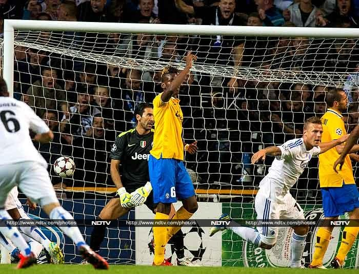 Despite a dominant second-half display, Juventus had to settle for a 1-1 draw in their Champions League Group B opener away to FC Copenhagen on Tuesday. <br> Nicolai Jorgensen gave the hosts a 15th-minute lead but, after riding their luck in the first half, the Danes fell to a 54th-minute equaliser from Fabio Quagliarella.