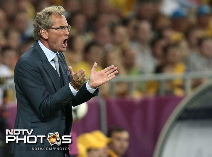 Sweden coach Erik Hamren had every reason to look angry given that his team has England and France to tackle next and they could not afford to lose this game.
