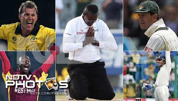 They are the officials who ensure the game of cricket remains clean. International umpires in recent years however, have come under a barrage of allegations, some with merit and others lacking it. A look at a few officials and their recent mis-adventures on the field. (Agency images)