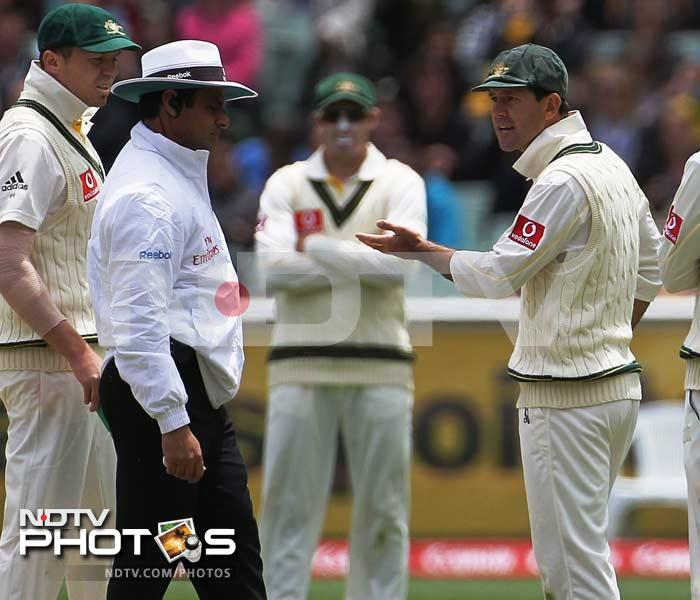 Dar found himself in a bigger controversy in 2010 when he and fellow officials Bucknor, Koertzen, Bowden and Crowe apparently unaware of the playing conditions regarding the result of a match under the Duckworth-Lewis system, made Australia bowl three unnecessary overs in near darkness.
