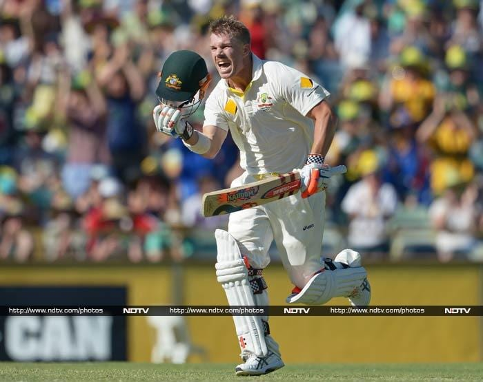 But it was David Warner who was the star of the show, hitting his second century of the series as Australia place one hand on the Ashes.