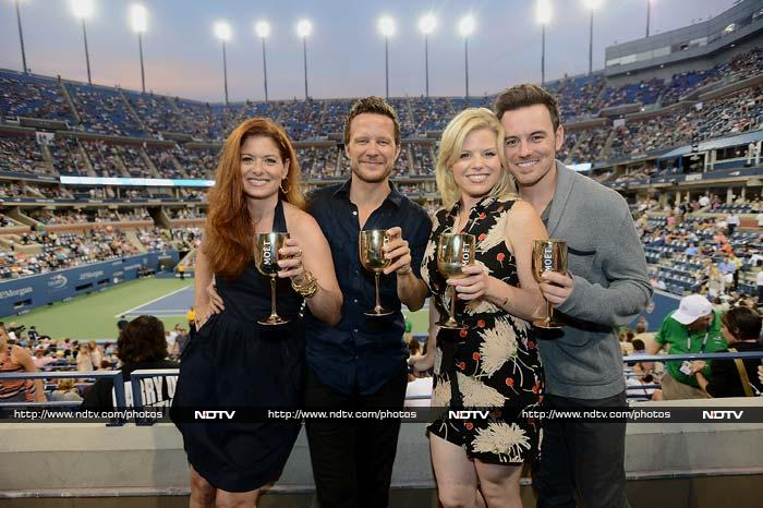 US Open has a long list of on-court celebrities, almost as extensive as the list of celebrities who make it a point to catch the tennis action live each time it comes to New York.<br><br>Take a look at some of the TV and movie celebrities who came to enjoy the sport here.<br><br> All images courtesy: AFP