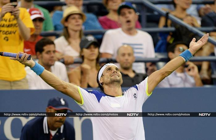 Fellow Spaniard David Ferrer also took back a win from Monday.<br><br>He beat Tipsarevic 7-6, 3-6, 7-5, 7-6.