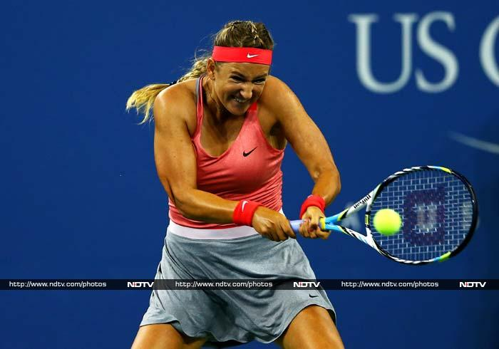 World number 2 Victoria Azarenka also chose to wear a more conventional tennis dress. Some however felt her skirt was just a bit too baggy, even by NYC standards.