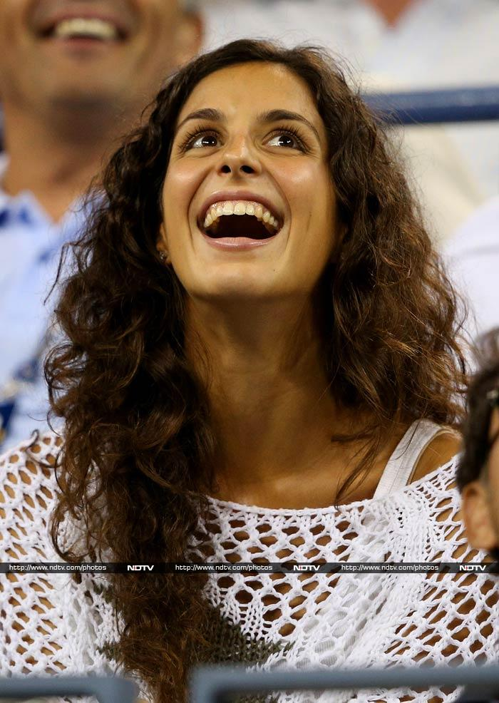 And here is Rafael Nadal's biggest supporter.<br><br>Xisca Perello has been dating Rafa for over eight years and has been close to him through the highs and lows of his career.
