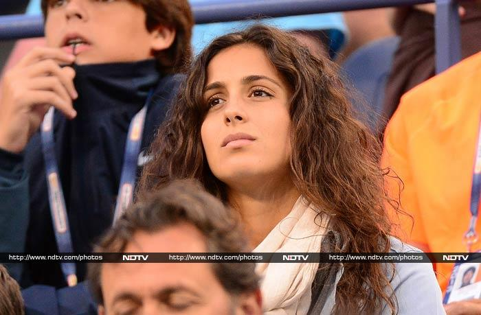 Xisca - her real name is Maria Francisca Perello - reportedly met Nadal in school in Majorca.