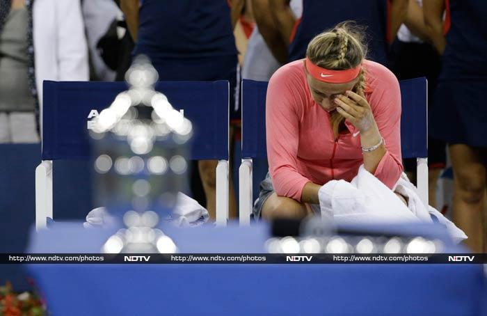"""""""It's a tough loss but being in the final against the best player, who deserves the win, it's incredible,"""" said the world number 2."""