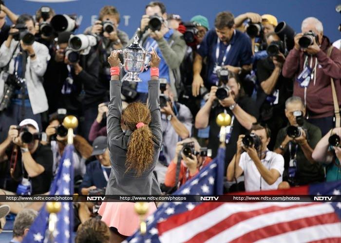 Williams won $3.6 million, including a $1 million bonus for her success in US open tuneup events.