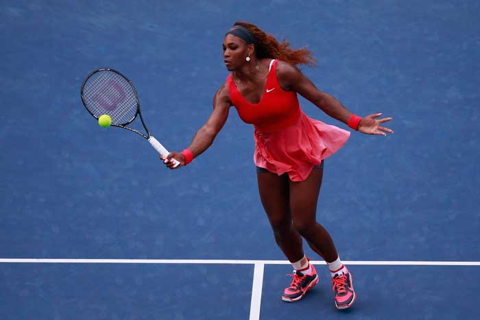 Women's star Serena Williams took on 20-year-old upcoming sensation Sloane Stephens as the Arther Ashe stadium was jam-packed for this high octane clash.
