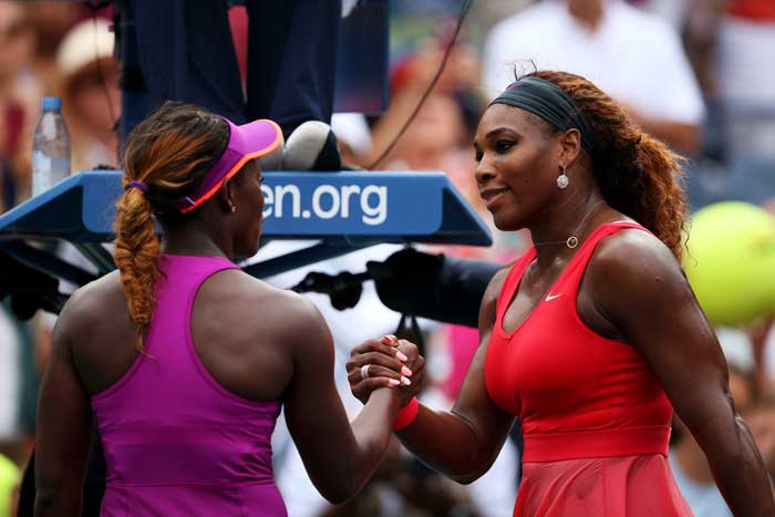 The 15-ranked younger player could hardly trouble the World No.1. Serena prevailed 64 6-1 to book a quarters berth.
