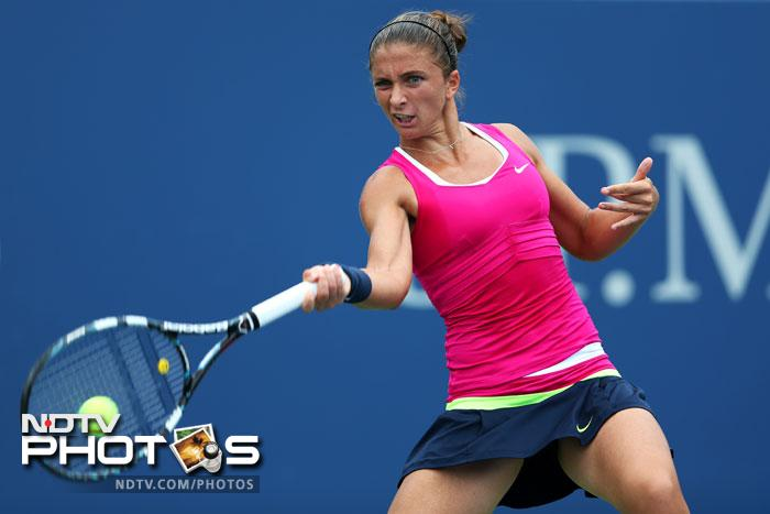 Sara Errani brought an end to Roberta Vinci's run in the tournament ending her journey in the quarterfinals by beating her 6-2, 6-4.