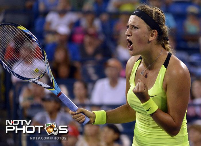 Victoria Azarenka faced no such trouble as she overcame Anna Tatishvili 6-2, 6-2 to earn her quarter-final berth.