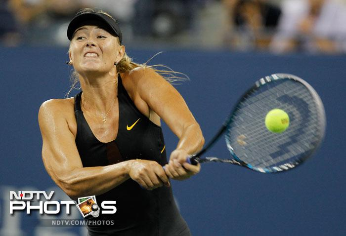 Maria Sharapova did face some stiff resistance from Nadia Petrova in the second set but went on to emerge victorious taking the match 6-1, 4-6, 6-4 to enter the last eight.