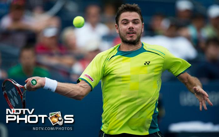 Stanislas Wawrinka dispatched Alexandr Dolgopolov in straight sets to earn a place in the last sixteen winning 6-4, 6-4, 6-2.