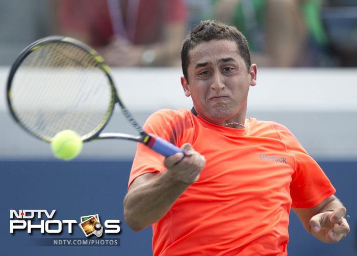 Nicolas Almagro was in winning form when he overcame Radek Stepanek 6-4, 6-7, 6-3, 6-4.