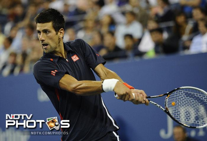 A look at how the action unfolded on the second day of the US Open 2012.