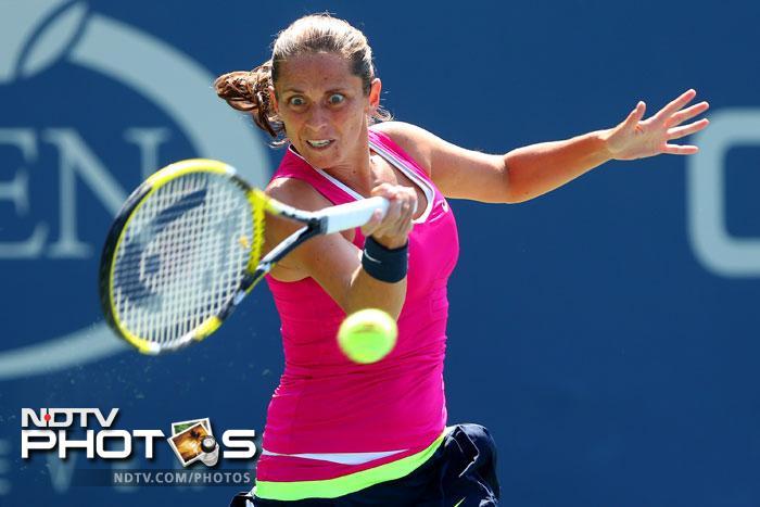 Roberta Vinci did not allow her opponent to even put up a fight as she decimated Urszula Radwanska 6-1, 6-1.