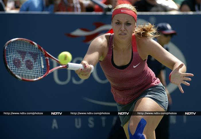 Russian 24th seed Makarova clinched a 6-4, 7-5 win over German 16th seed Lisicki, who had wowed Wimbledon last month when she defeated Serena Williams on her way to a final loss against Marion Bartoli.