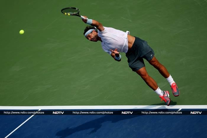 """The 38th-ranked Dodig beat Nadal at the hard-court tournament in Montreal two years ago. But Nadal is looking like the king of hard courts these days, with an 18-match winning streak on the surface. <br> """"I am winning because I am playing well from the baseline and I am making the right decisions in the right moments,"""" Nadal said."""