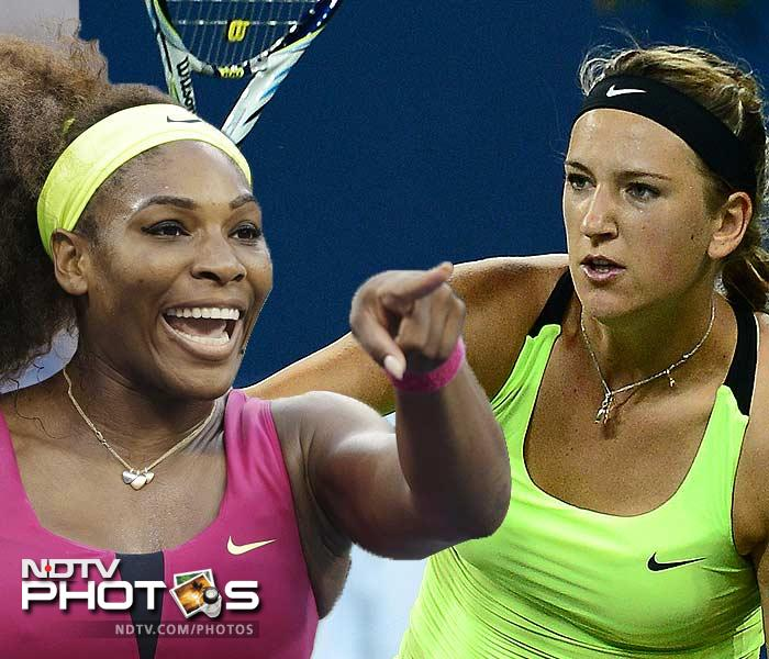 Victoria Azarenka is in good form. She has beaten formidable opponents to craft her way to the final. Serena Williams though has mostly mowed her way to the title clash. Get set for a contrasting battle as both players fight it out for the crown. (AFP and AP images)