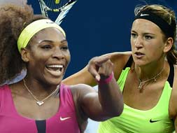 US Open 2012: Serena vs Victoria for the title