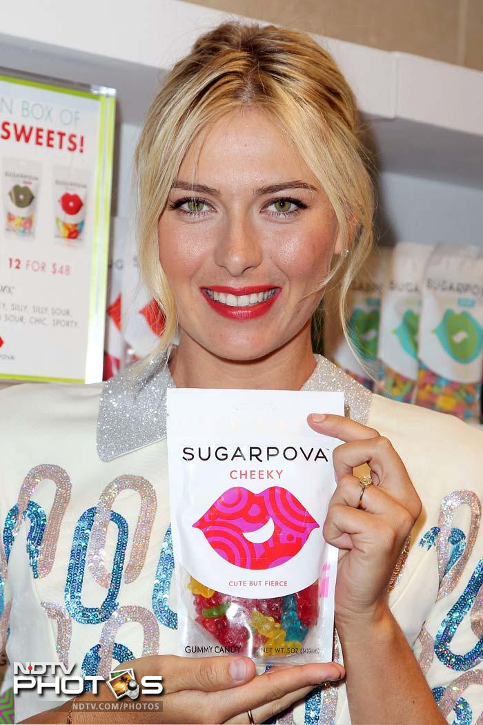"""""""My main goal was to make candies that will fit my personal taste and the tastes of girls with similar preferences,"""" she was quoted as saying at the launch in New York."""