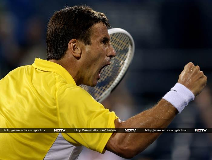 Tommy Robredo is not shy to express himself after defeating Roger Federer.
