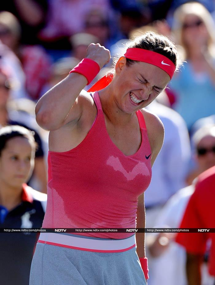 World number two Victoria Azarenka brushed aside Italian veteran Flavia Pennetta 6-4 6-2 to reach her second successive US Open final. The Australian Open champion committed six double faults and 25 unforced errors.