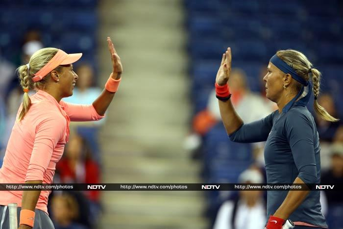 Andrea Hlavackova and Lucie Hradecka, who are eyeing their second Grand Slam title, will play Australians Ashleigh Barty and Casey Dellacqua in the final on Saturday.