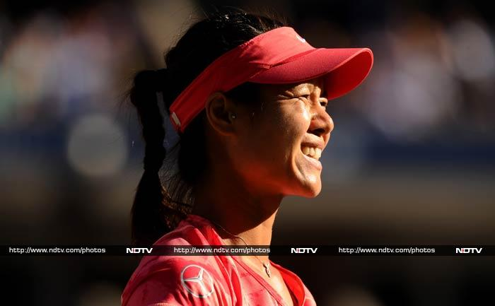 """The 2011 French Open champion Li Na, who was playing in her first US Open semi-final, looked a bit nervous. """"I was feeling I need more practice. It's not about the technique. I should not be nervous because it's not first time I play semis,"""" said Li."""