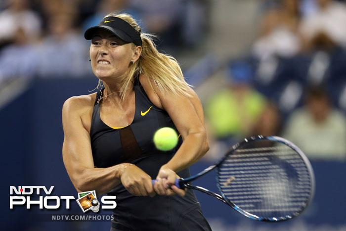 Maria Sharapova didn't even let her opponent get her bearings as she annihilated Lourdes Dominguez Lino 6-0, 6-1.
