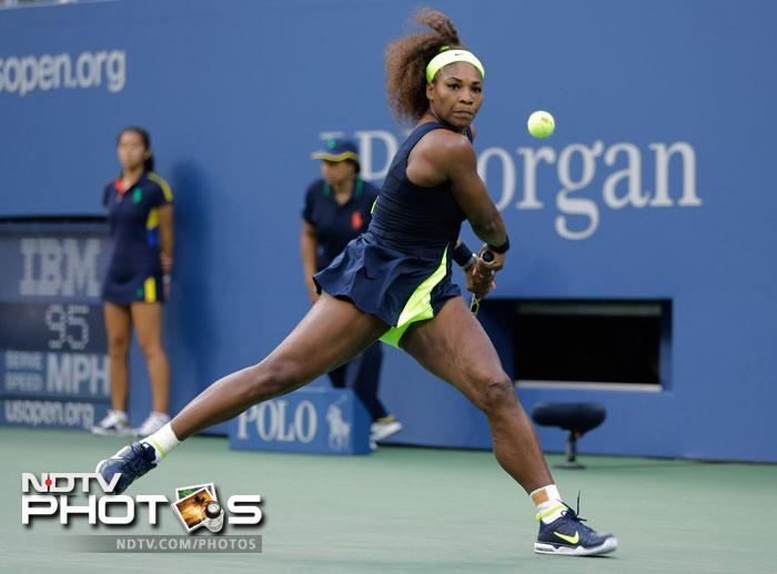 Serena Williams had a considerably easy route to the finals but Victoria Azarenka ensured that none of that happened on D-Day. It was an intense battle and both the players literally locked horns at the Arthur Ashe Stadium.